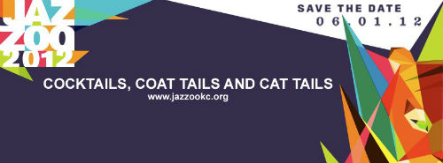 kansas city jazzoo 2012 tagline cocktails coattails and cat tails