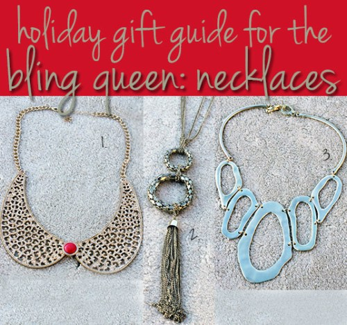 charming charlie holiday gift guide for the bling queen necklaces