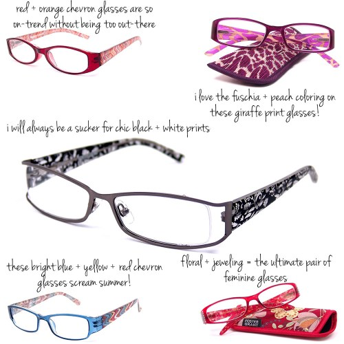 foster grant fashion reading glasses