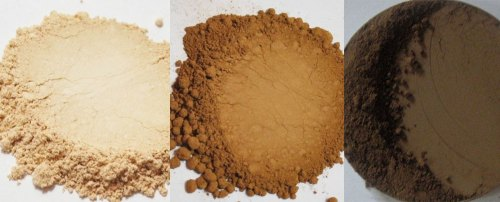 purely you minerals minera foundation colors