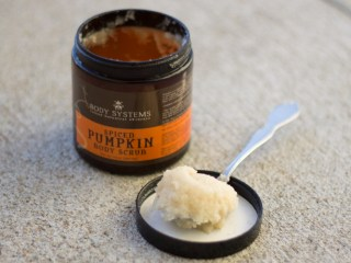 body systems spiced pumpkin body scrub