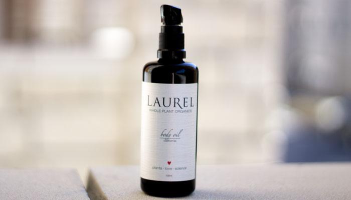 laurel whole plant organics california body oil