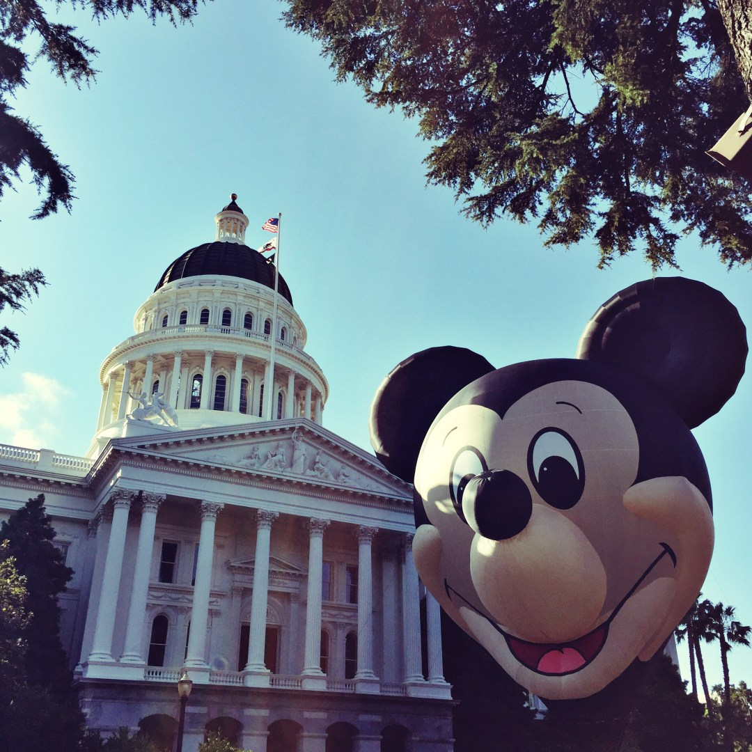 #DisneylandDay in Sacramento