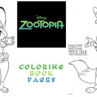 zootopia coloring pages fun!