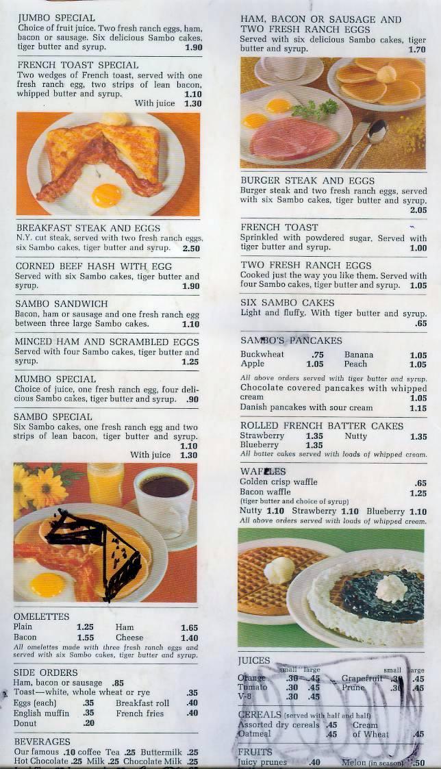 Sambou0027s menu Remember When Pinterest Menu - coffee menu