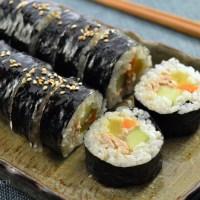 Easy Tuna Kimbap - 참치 김밥
