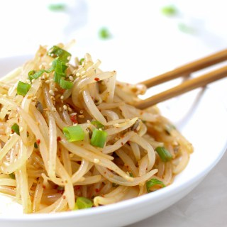 Fresh Korean Bean Sprout Salad (Kongnamul)