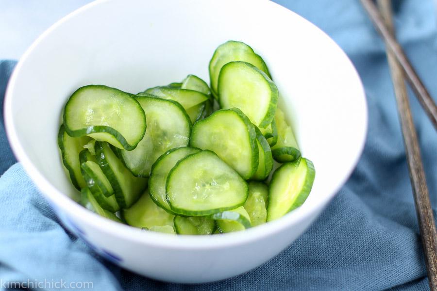 Bibimbap.cucumber |www.kimchichick.com