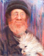 Homeless, Original Painting by Kim Novak