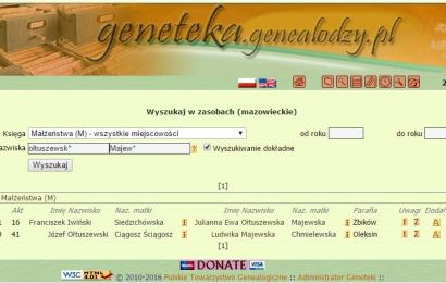 Wyszukiwanie w Genetece