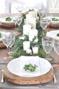 A Rustic Christmas Table Setting - Kim Power Style