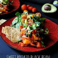 Sweet Potato Black Bean Casserole