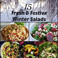 15 Fresh and Festive Winter Salads