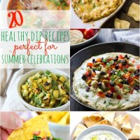 20 Healthy Dip Recipes for Summer Celebrations