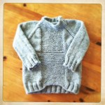 Fisherman's Sweater for Owen
