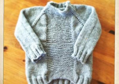 Fisherman's Sweater for Owen