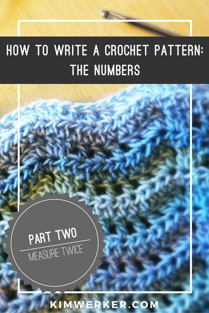 Crochet Pattern Writer : How to Write a Crochet Pattern, Part 2: The Numbers