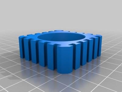 fischertechnik Motorhalterung aus dem 3D-Drucker