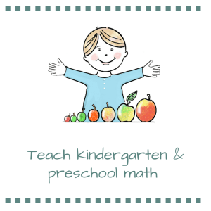 teach kindergarten math