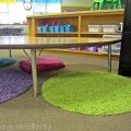brightly colored and cohesive {creating a classroom color scheme}