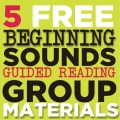 5 free beginning sounds