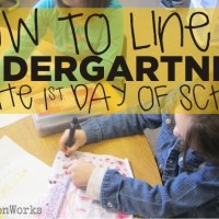 How To Line Up the First Day of School