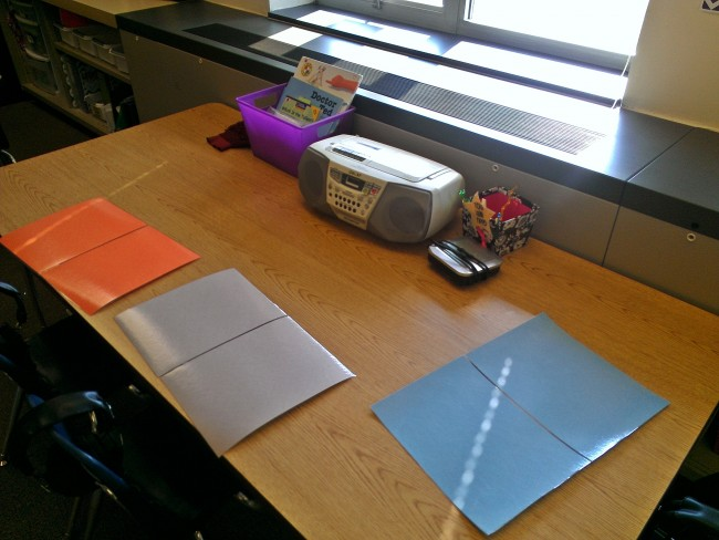 How to Roll Out Student Work Spaces {alternative seating - two week notice email