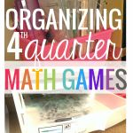 12 Guided Math Independent Activities for Fourth Quarter [+Organization]