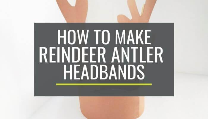 Cute and Free Printable Reindeer Antler Headbands KindergartenWorks