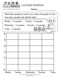 Line Graph Worksheet - Free Kindergarten Math Worksheet ...