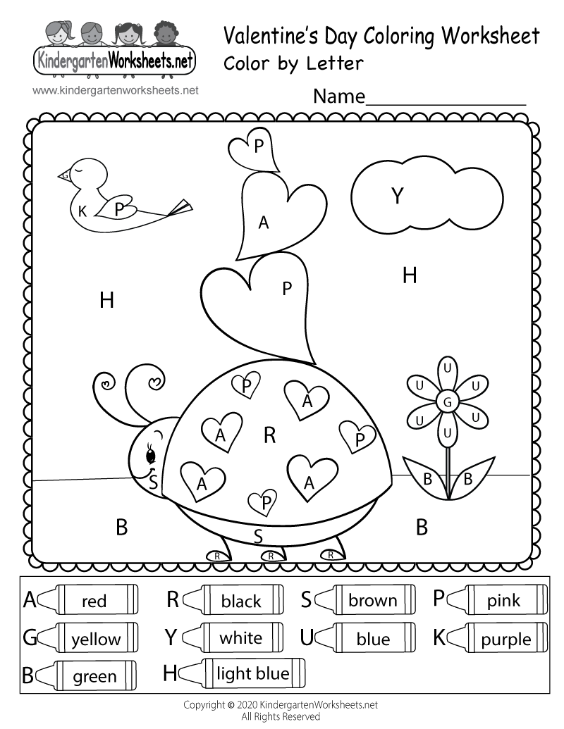 Printable Coloring Pages Valentines Day Cards – Valentine Cards for Kindergarten