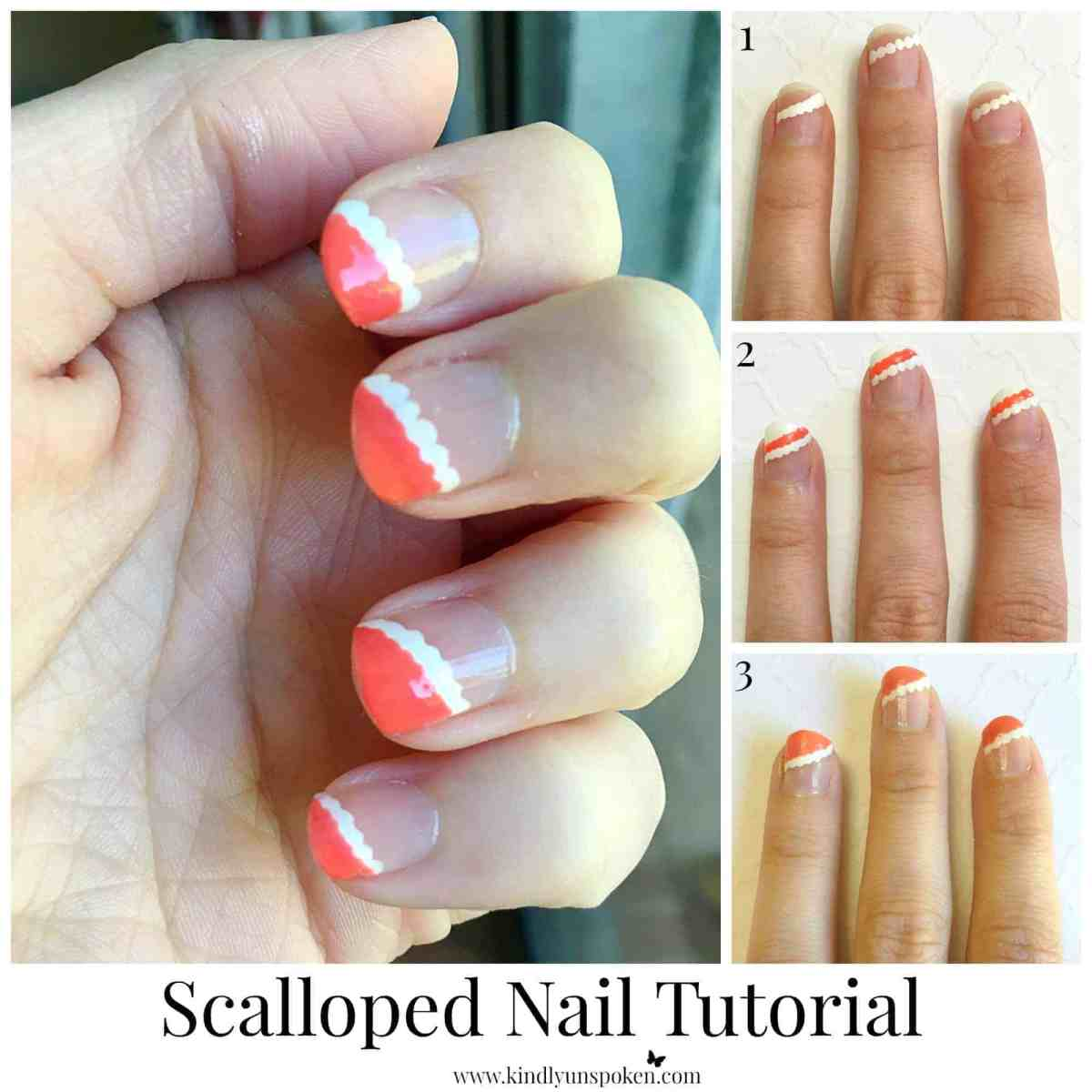 Scalloped Nail Tutorial