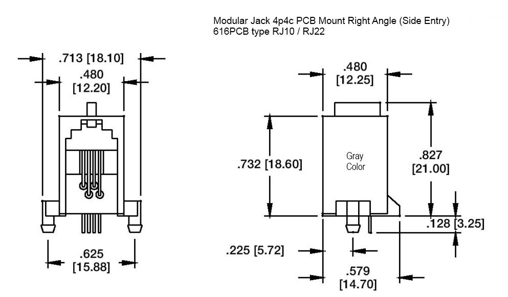 4p4c connector wiring diagram
