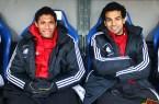 FC Basel duo - Salah and Elneny