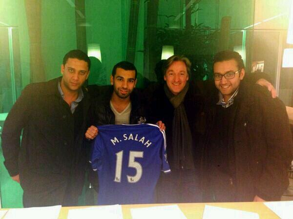 Mohamed Salah signs for Chelsea