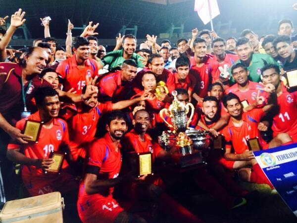 Shabana leads Churchill Brothers to FA Cup title