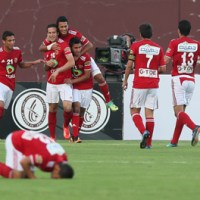 Al Ahly '97 side defeat Spanish giants Atlético Madrid