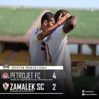 VIDEO: Zamalek dealt 4-2 loss by Petrojet in top-of-the-table clash