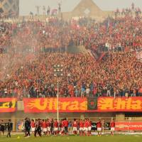 Video: Al Ahly fans celebrate Super Cup in Mokhtar El-Tetsh