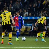 Hamoudi features as Basel down Young Boys in Swiss Super League