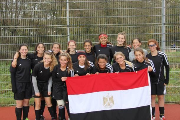 Sahar Shehata - CAC Varsity Soccer Team