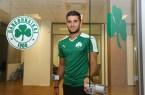 Algeria international Mehdi Abeid joins Panathinaikos. Photo: Panathinaikos FC Official Website