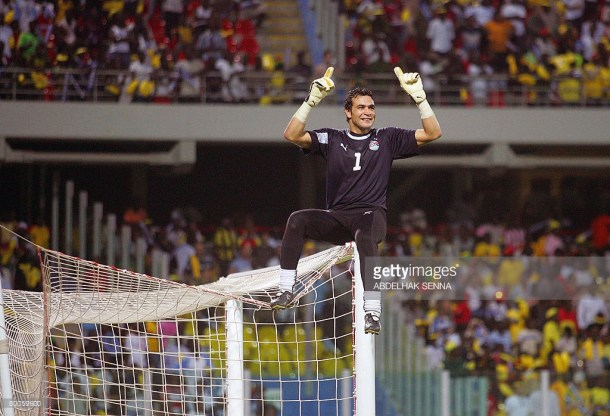 Essam El-Hadary Out Against Nigeria