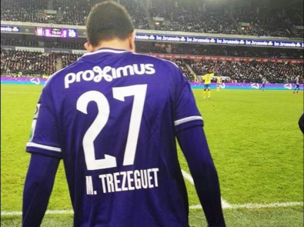 Trezeguet Anderlecht debut