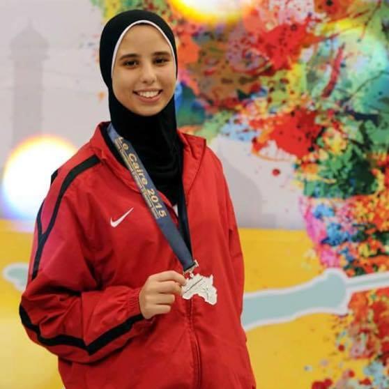 Noura Mohamed fencing