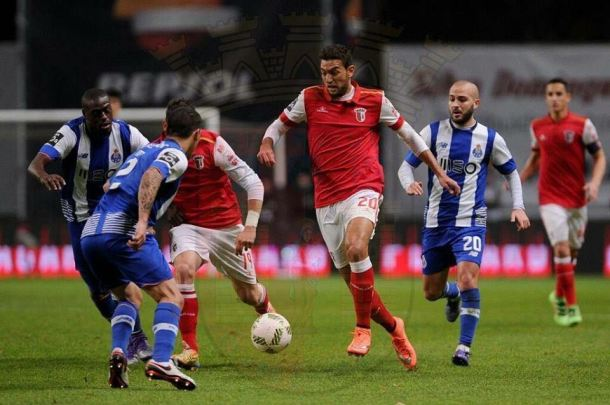 Braga beating Porto