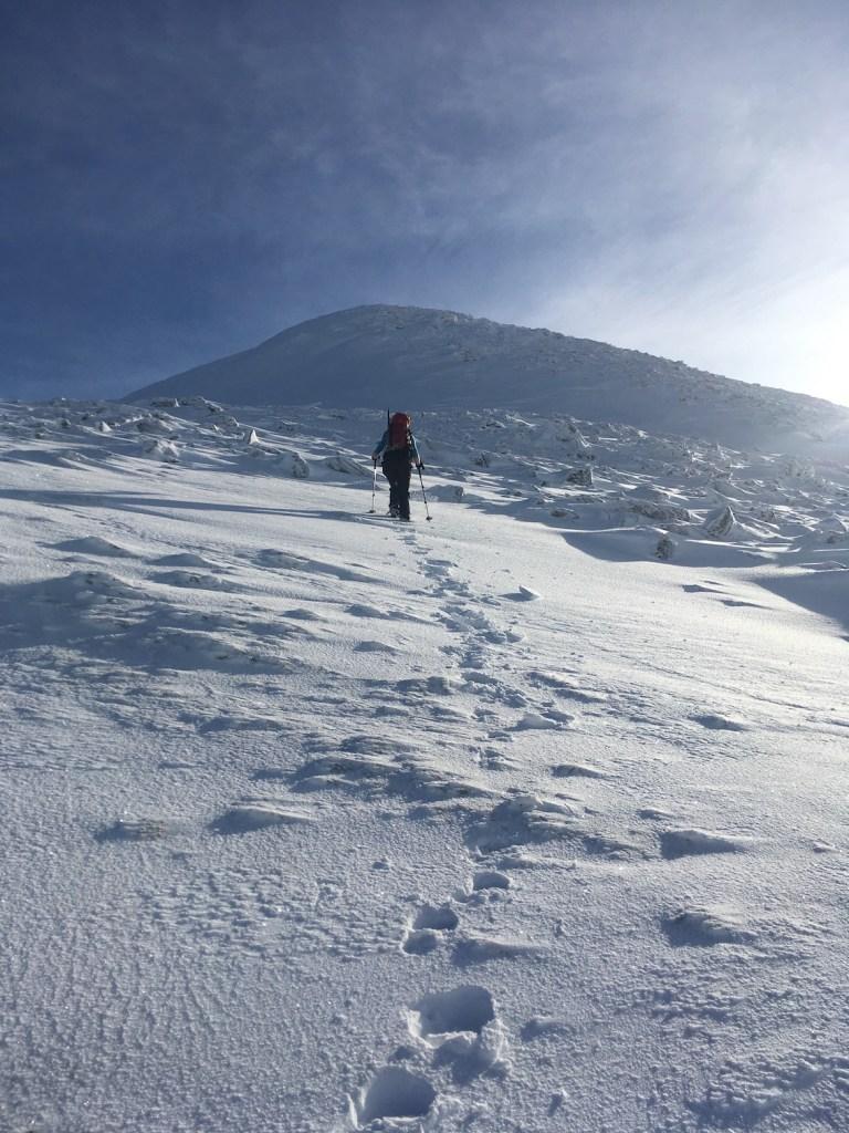 Climbing Sgurr Mor