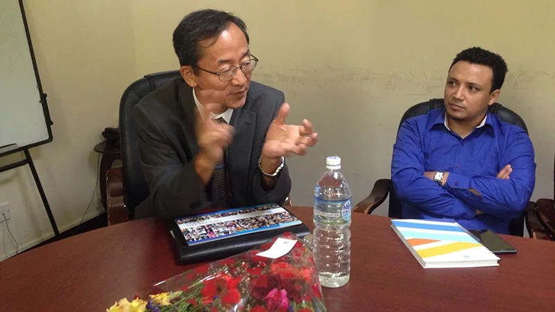 Interaction with ADB Country Director