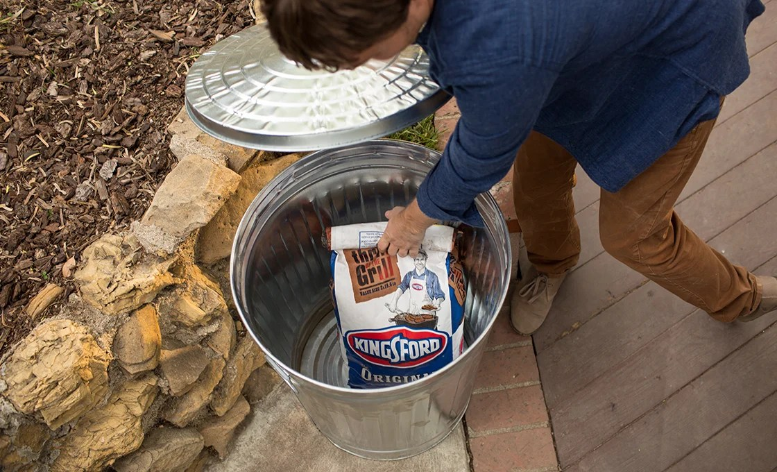 How To Charcoal Storage
