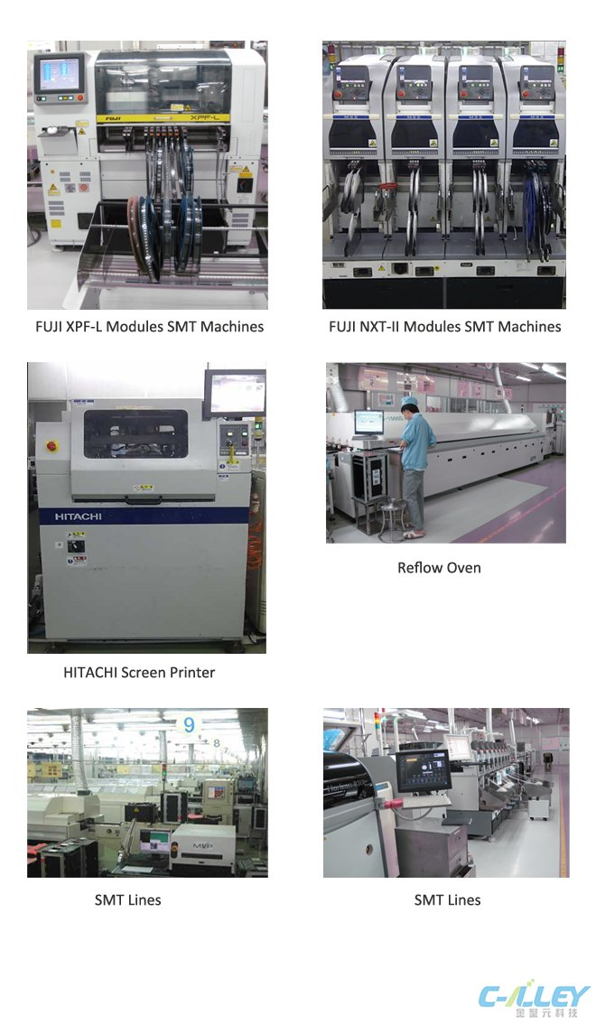 SMT Equipment-Equipment List-Printed Circuit Board Assembly, PCBA - mechanical equipments list